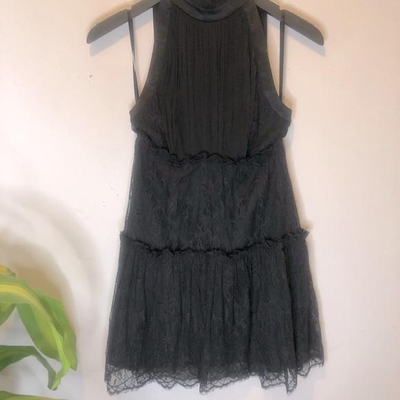 Bebe Design Lab Lace & Silk Dress